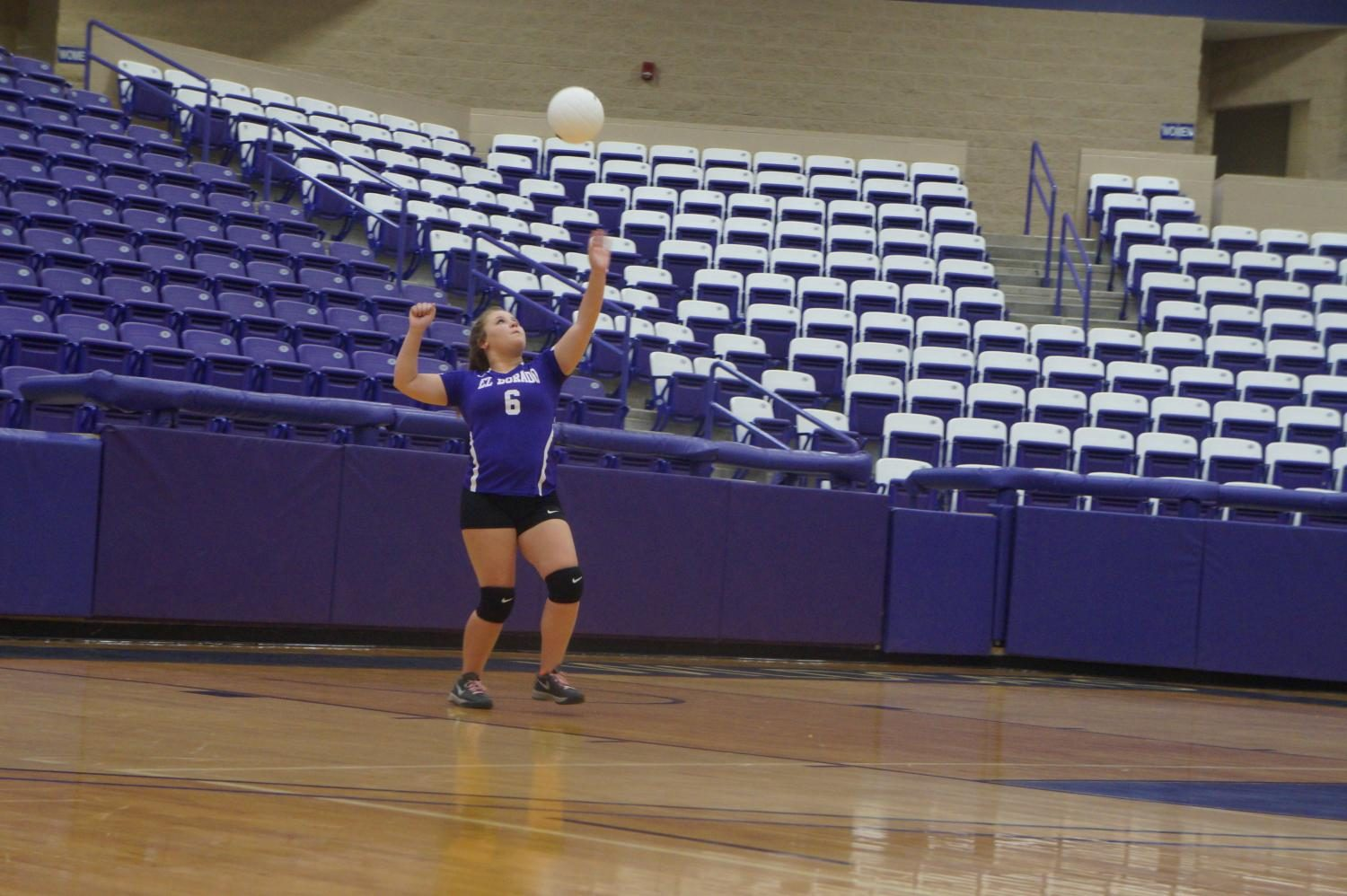 EHS Volleyball serves up win to White Hall