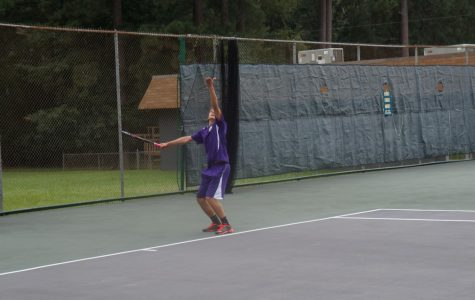 EHS Tennis Cats earn victory over Arkansas High