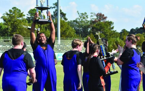 Wildcat Band marches to victory in competition