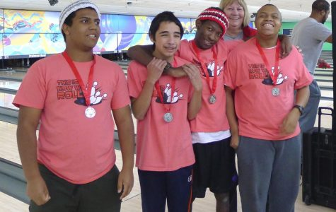 Elijah Tyler, Eric Compton, Jimmie Ellis, and Alex Kemp participated in the Special Olympics in Little Rock.
