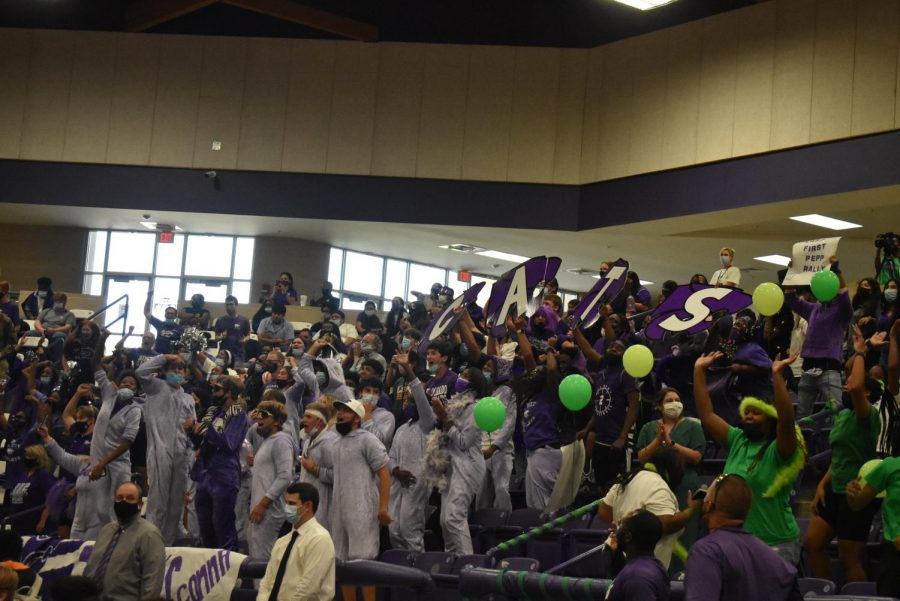 EHS First Pep Rally Of 2021